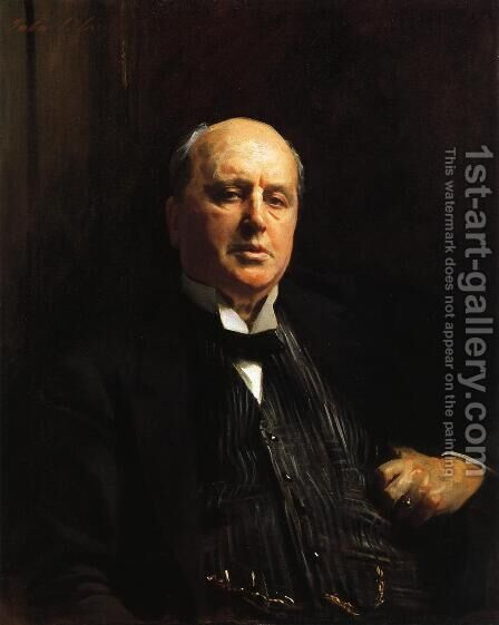 Henry James by Sargent - Reproduction Oil Painting