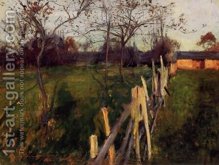 Home Fields by Sargent - Reproduction Oil Painting