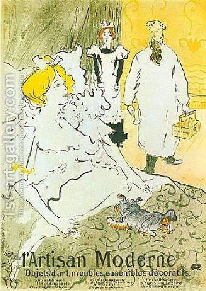 LArtisan Moderne by Toulouse-Lautrec - Reproduction Oil Painting