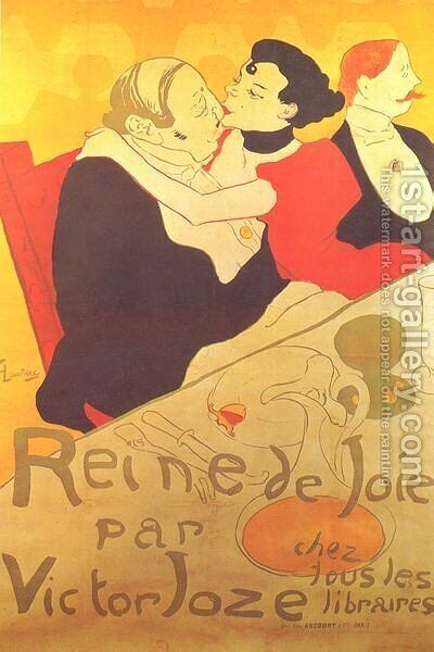 Joy Queen by Toulouse-Lautrec - Reproduction Oil Painting