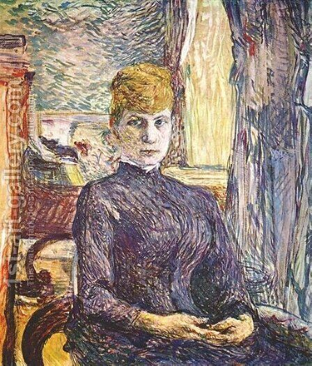 Juliette Pascal by Toulouse-Lautrec - Reproduction Oil Painting