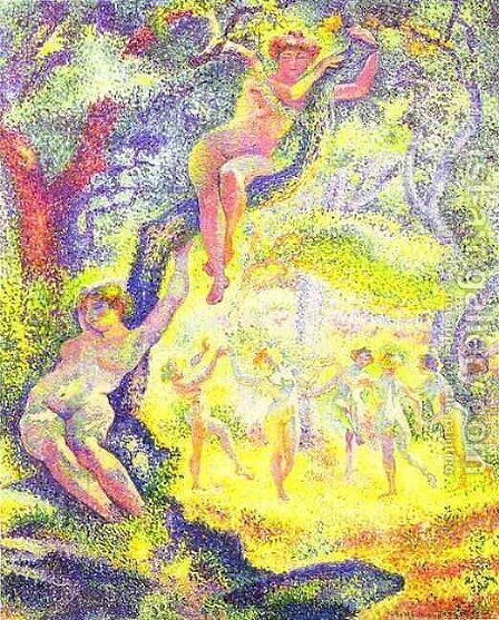The Clearing by Henri Edmond Cross - Reproduction Oil Painting