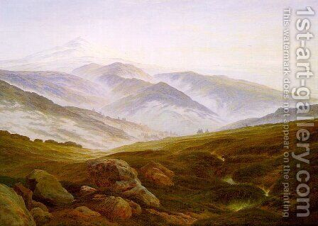 Riesengebirge 1835 by Caspar David Friedrich - Reproduction Oil Painting