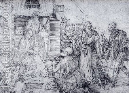 The Adoration Of The Wise Men by Albrecht Durer - Reproduction Oil Painting