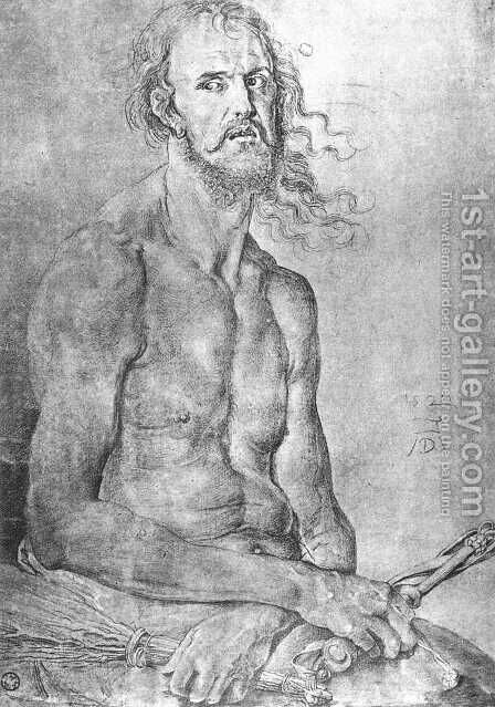 The Man Of Sorrows by Albrecht Durer - Reproduction Oil Painting