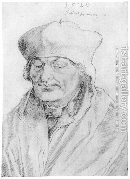 Erasmus by Albrecht Durer - Reproduction Oil Painting