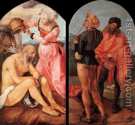 The Jabach Altarpiece by Albrecht Durer - Reproduction Oil Painting