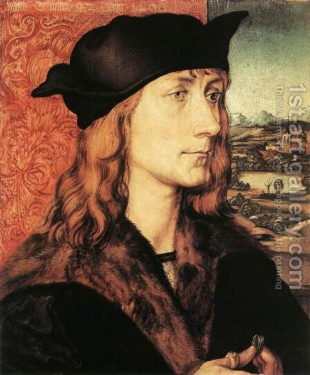 Hans Tucher by Albrecht Durer - Reproduction Oil Painting