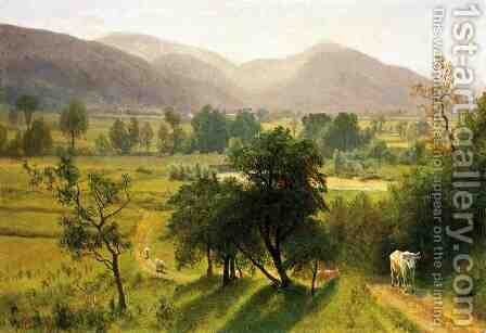 Conway Valley  New Hampshire by Albert Bierstadt - Reproduction Oil Painting