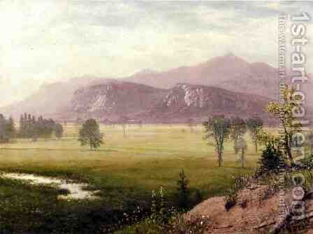 Conway Meadows  New Hampshire by Albert Bierstadt - Reproduction Oil Painting