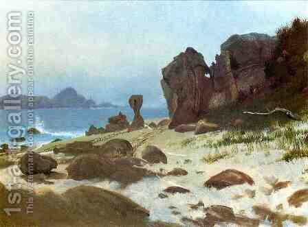 Bay Of Monterey by Albert Bierstadt - Reproduction Oil Painting