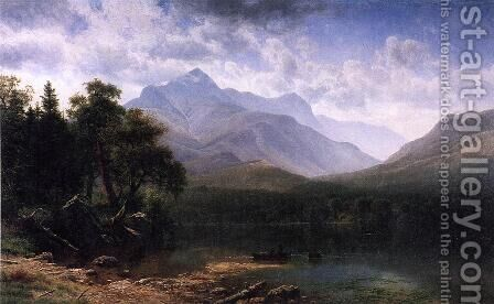 Mount Washington by Albert Bierstadt - Reproduction Oil Painting