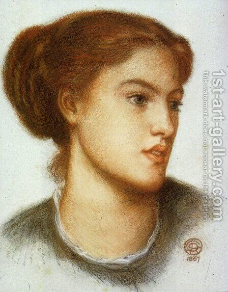 Ellen Smith by Dante Gabriel Rossetti - Reproduction Oil Painting