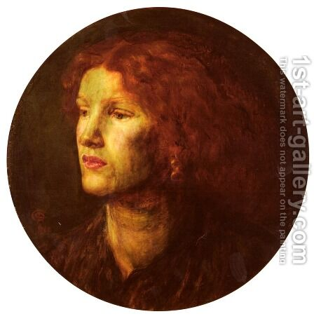 Fanny Cornforth2 by Dante Gabriel Rossetti - Reproduction Oil Painting
