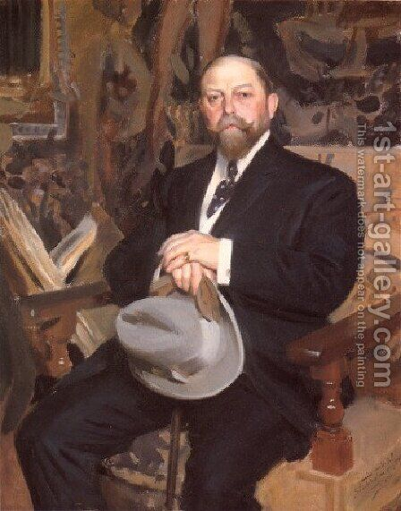 Hugo Reisinger by Anders Zorn - Reproduction Oil Painting