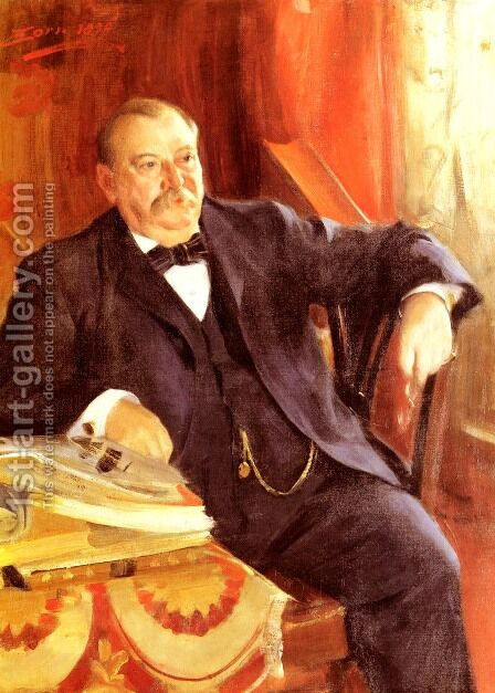 President Grover Cleveland by Anders Zorn - Reproduction Oil Painting