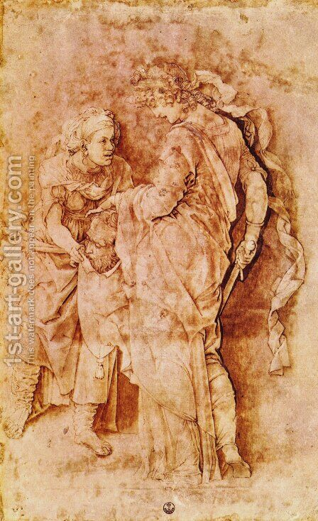 Judith With The Head Of Holofernes by Andrea Mantegna - Reproduction Oil Painting