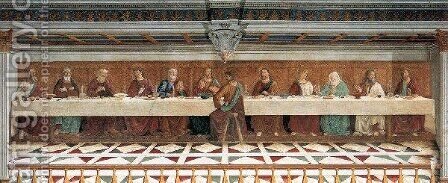Last Supper 1476 by Domenico Ghirlandaio - Reproduction Oil Painting