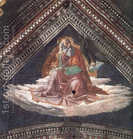 St John The Evangelist by Domenico Ghirlandaio - Reproduction Oil Painting