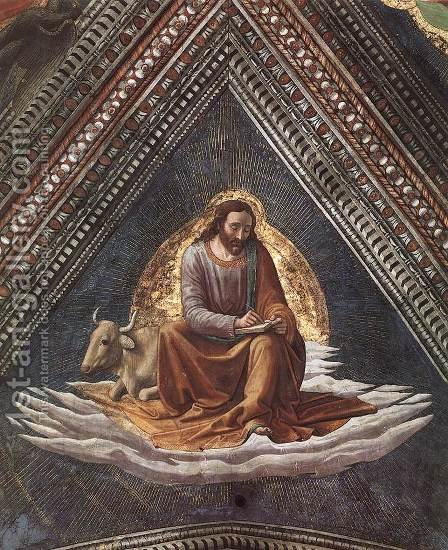 St Luke The Evangelist by Domenico Ghirlandaio - Reproduction Oil Painting