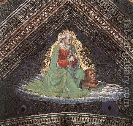 St Mark The Evangelist by Domenico Ghirlandaio - Reproduction Oil Painting