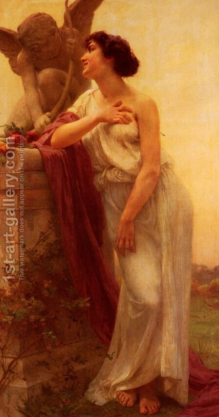 Confidence by Guillaume Seignac - Reproduction Oil Painting