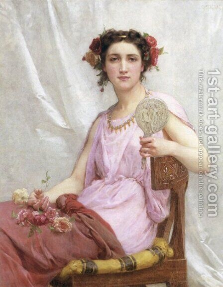 Vanity by Guillaume Seignac - Reproduction Oil Painting