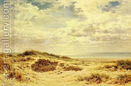 Morning On The Sussex Coast by Benjamin Williams Leader - Reproduction Oil Painting