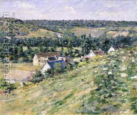 Giverny by Theodore Robinson - Reproduction Oil Painting