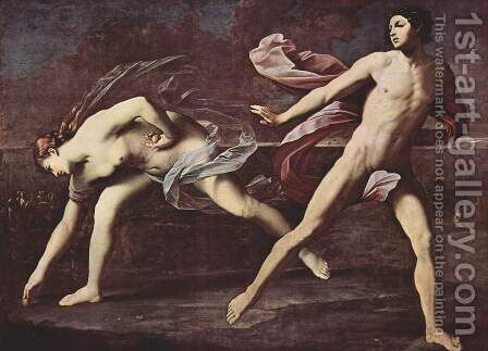 Atalanta and Hippomenes c. 1612 by Guido Reni - Reproduction Oil Painting