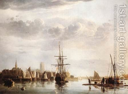 View of Dordrecht, c. 1655 by Aelbert Cuyp - Reproduction Oil Painting