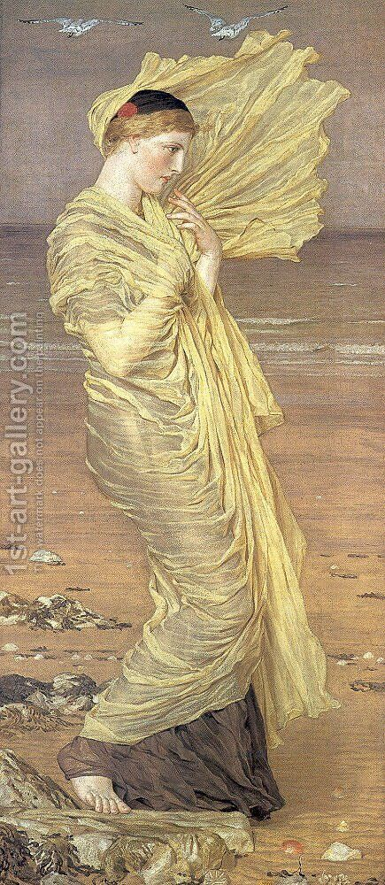 Seagulls by Albert Joseph Moore - Reproduction Oil Painting