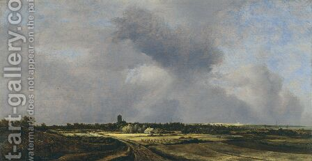 View Of Naarden by Jacob Van Ruisdael - Reproduction Oil Painting