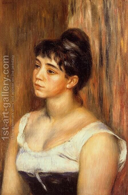 Suzanne Valadon by Pierre Auguste Renoir - Reproduction Oil Painting