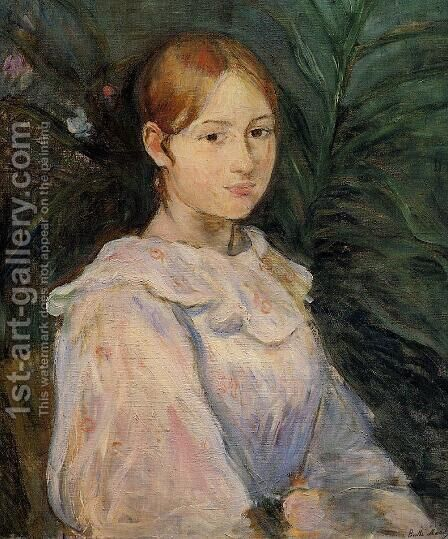 Bust Of Alice Gamby by Berthe Morisot - Reproduction Oil Painting