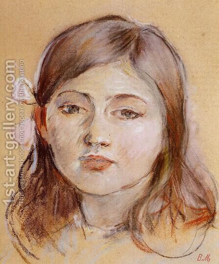 Portrait Of Julie by Berthe Morisot - Reproduction Oil Painting