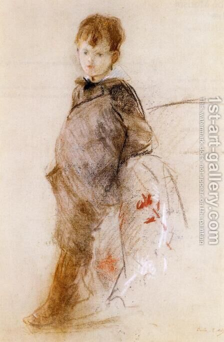 Portrait Of Marcel by Berthe Morisot - Reproduction Oil Painting