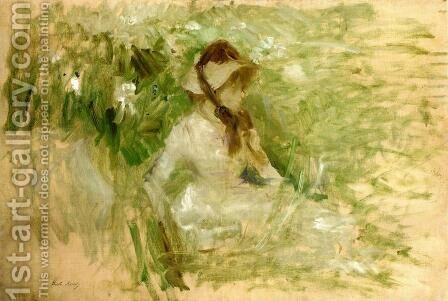 Tete De Chien Griffon  Follette by Berthe Morisot - Reproduction Oil Painting