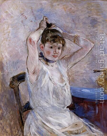 The Bath by Berthe Morisot - Reproduction Oil Painting