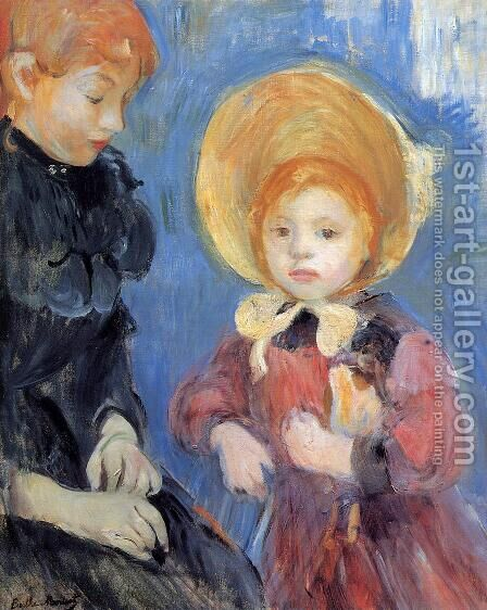 The Black Finger Bandage by Berthe Morisot - Reproduction Oil Painting