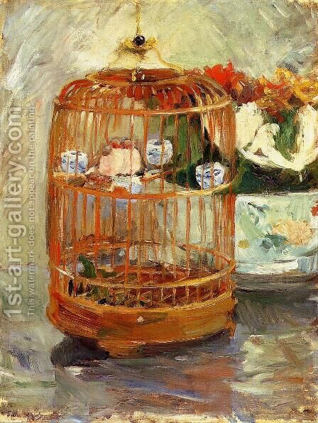 The Cage by Berthe Morisot - Reproduction Oil Painting