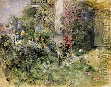 The Garden At Bougival by Berthe Morisot - Reproduction Oil Painting