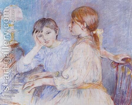 The Piano by Berthe Morisot - Reproduction Oil Painting