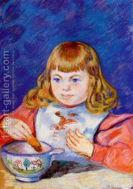 Breakfast by Armand Guillaumin - Reproduction Oil Painting