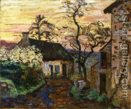 Damiette Aka Vallee De Chevreuse by Armand Guillaumin - Reproduction Oil Painting