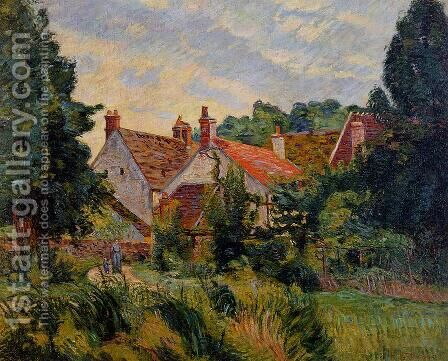 Epinay Sur Orge by Armand Guillaumin - Reproduction Oil Painting