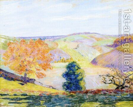 Lanscape by Armand Guillaumin - Reproduction Oil Painting