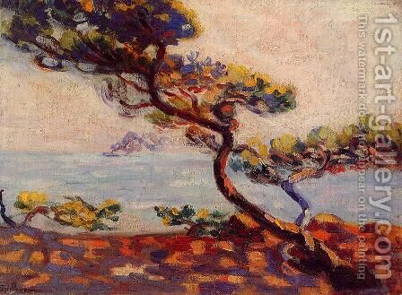 Midday In France by Armand Guillaumin - Reproduction Oil Painting