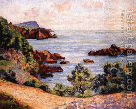 Midday Landscape by Armand Guillaumin - Reproduction Oil Painting