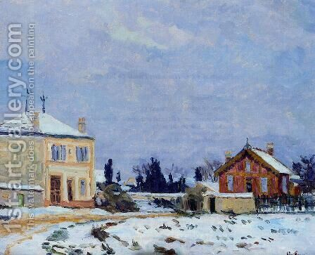 Snow by Armand Guillaumin - Reproduction Oil Painting
